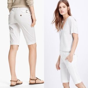 Vince • Bermuda Shorts with Silver Buckles